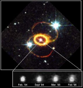 SN1987a in a Jan. 1997 picture by NASA