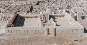 דגם בית המקדש שצולם בwikipedia